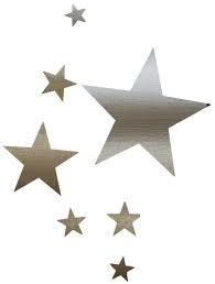 étoile argentée