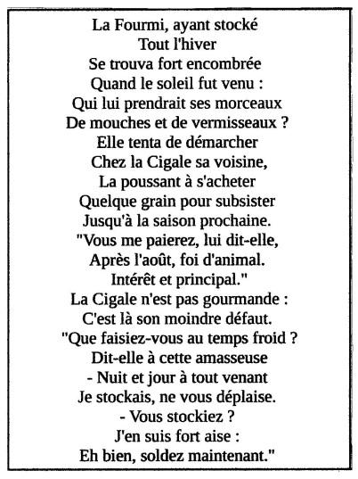 La cigale et la mourmi - Colette 001